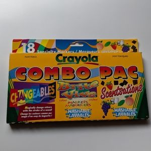 Vintage 90s Crayola markers new in box